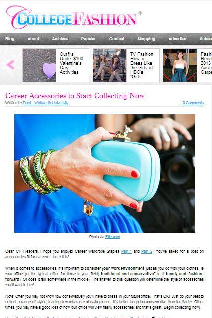 Career Accessories